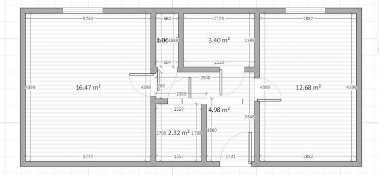 Prodej bytu 2+kk 44 m, Záběhlická, BEZ REALITKY