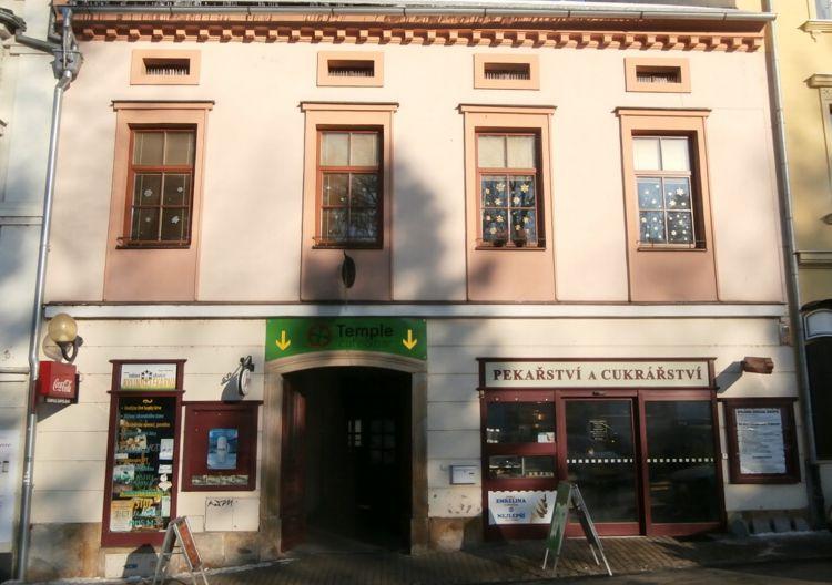 Pronájem nebytových prostor, centrum Šumperka