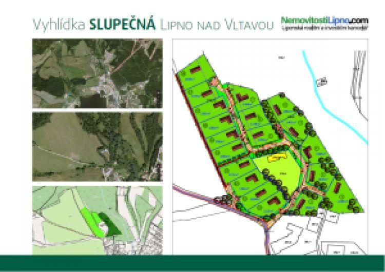 Stavební pozemky – Vyhlídka Slupečná – Lipno nad Vltavou