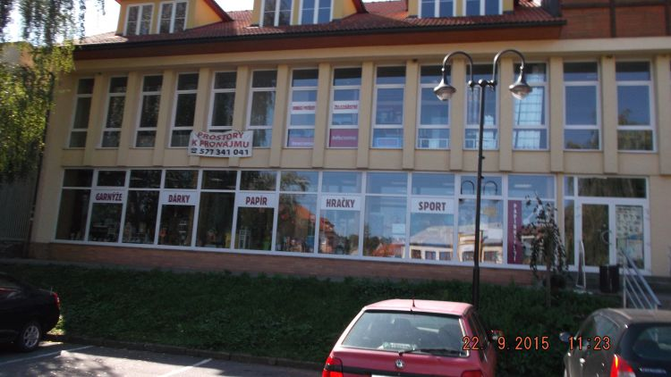 Volný nebytový prostor v centru města Slavičín