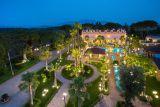 V Itálii na jihu Salerna je turistický komplex. 1