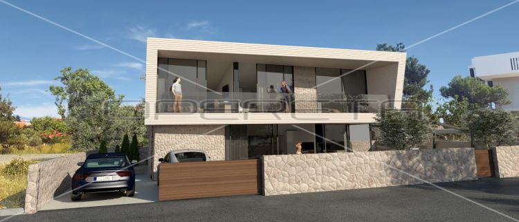 Luxury new villa in the newly built part of Novalja, 170 m2.