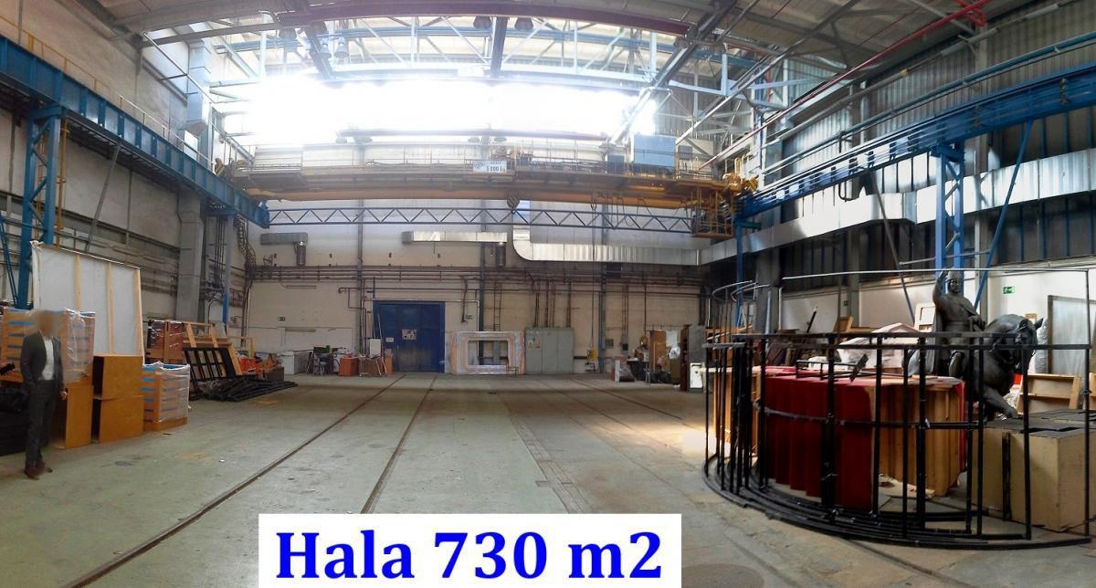Sklad / výroba 730 m2, přízemí, Praha 5