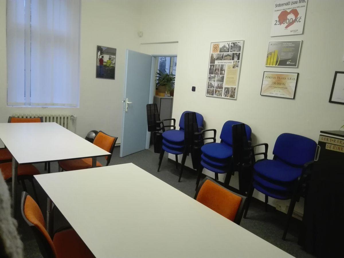 Inzerát Útulná variabilní školící místnost na Vinohradech k pronájmu