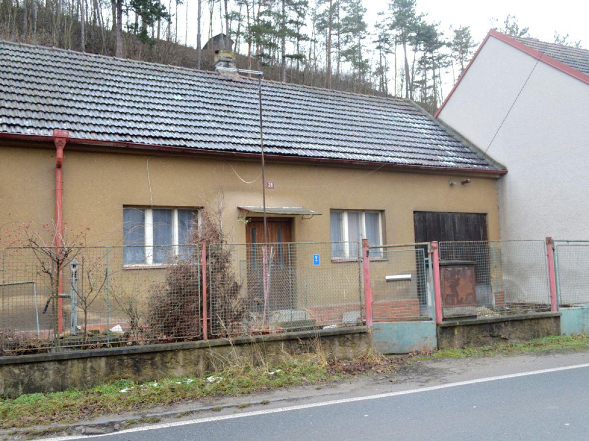 Rodinný domek v rekonstrukci – Zadní Třebaň