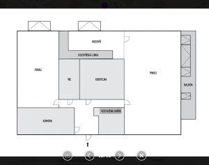Pronájem bytu 2+1 6