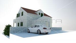 New villa, Splitska, Brač, 300 m2 1