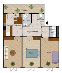 Prodej bytu 3+1 v osobním vlastnictví 117 m², Praha 10 - Vršovice 16