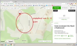 pozemek prodej Cesta Osvobození Rtyně v Podkrkonoší