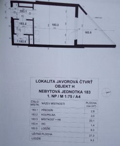 Pronájem bytu 1kk Praha Horní Měcholupy 10
