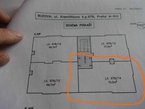 Prodej: Byt 3+1 na Praze 4 - Budějovická 3