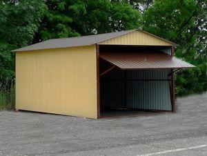 Plechové garáže v AKCI - v ceně doprava a montáž 6
