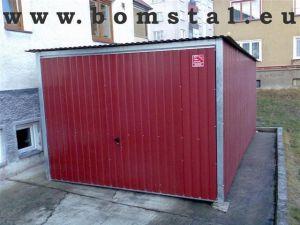 Plechové garáže v AKCI - v ceně doprava a montáž 7