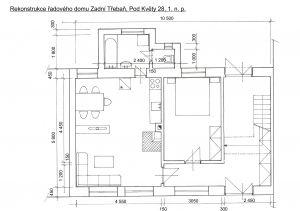 Rodinný domek v rekonstrukci – Zadní Třebaň 7