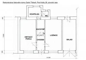 Rodinný domek v rekonstrukci – Zadní Třebaň 6
