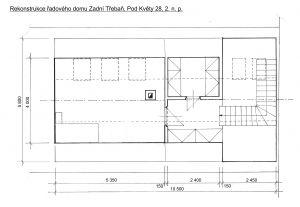 Rodinný domek v rekonstrukci – Zadní Třebaň 8