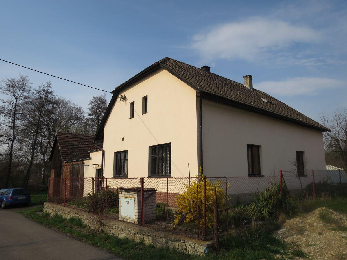 Prodej RD Nedošín, pozemek 1611m2