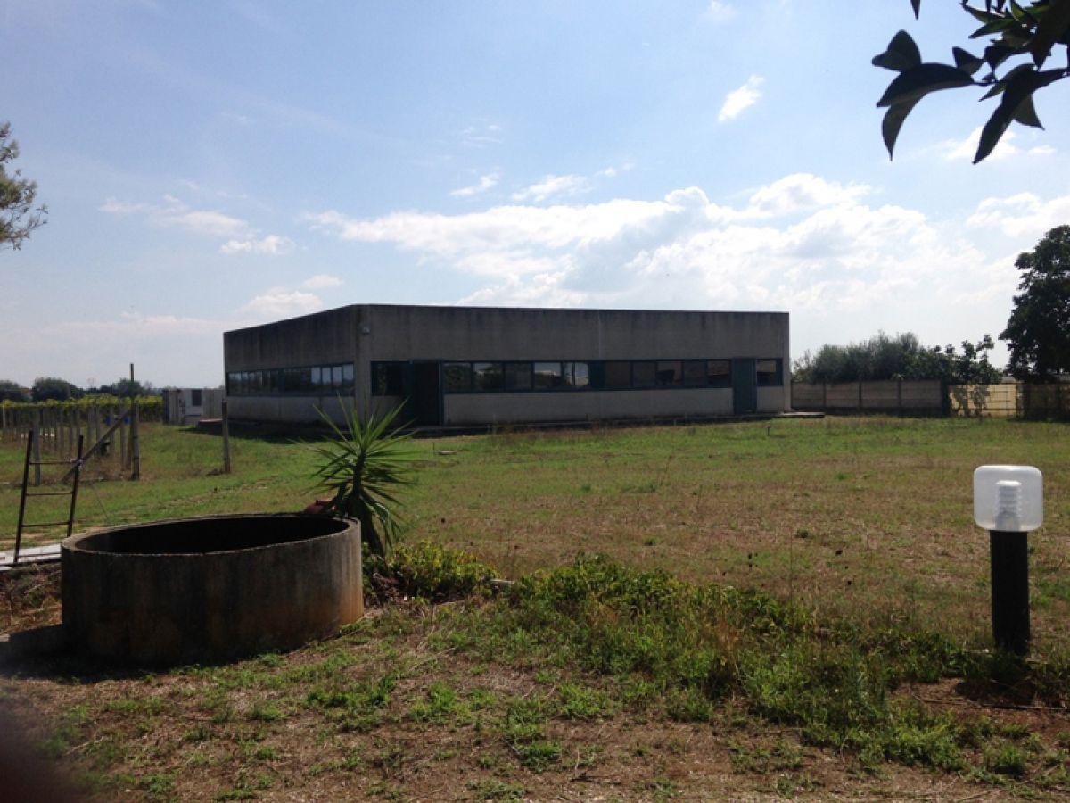 nemovitosti na prodej, skládající se z domu s průmyslovými budovami