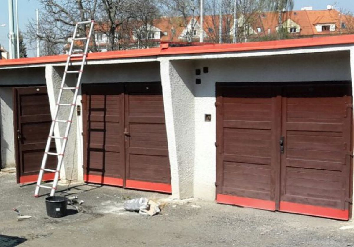 Pronájem garáže na Praha 6 - Petřiny
