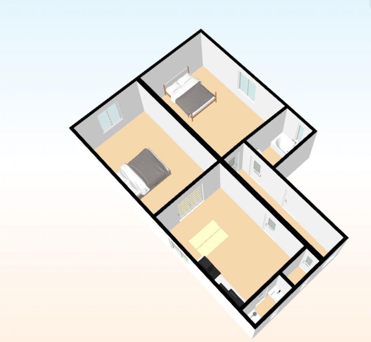 Prodej bytu 3+kk (podíl na RD), Praha - Modřany
