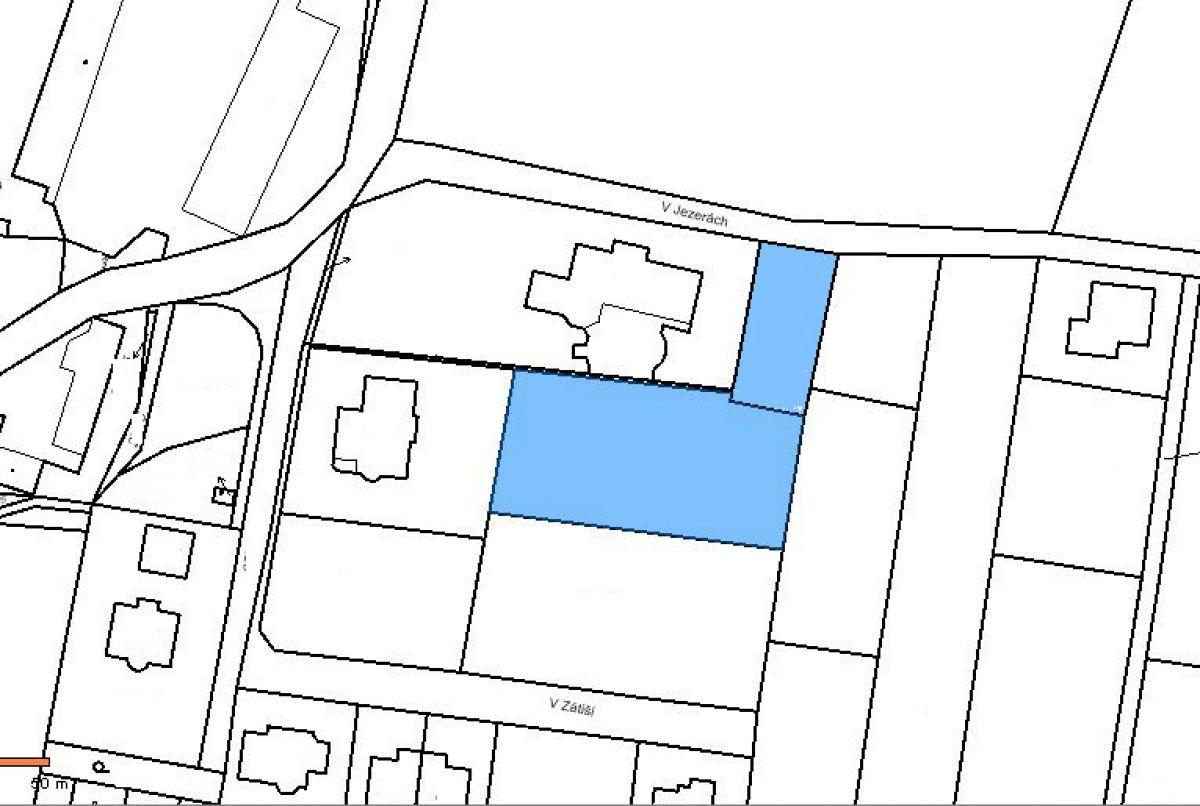 Prodej  stavebního  pozemku  1550  m²  -  ZVOLE