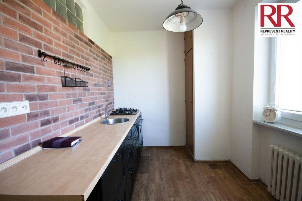 Prodej bytu 2+1 54 m2 v cihlovém domě v Plzni Skvrňany