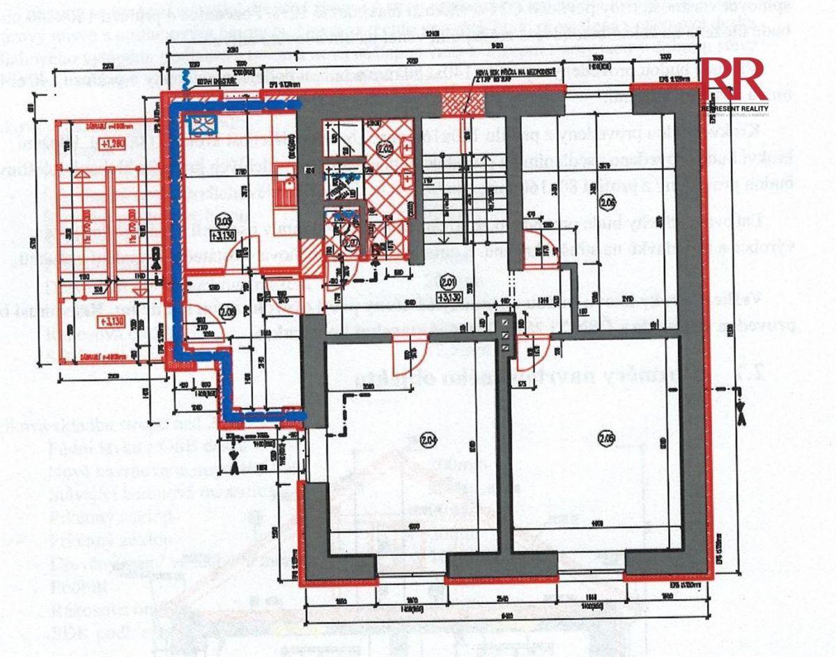 Prodej bytu 3+1 ve Volduchách u Rokycan, nově budovaný s parkovacím venkovním stáním