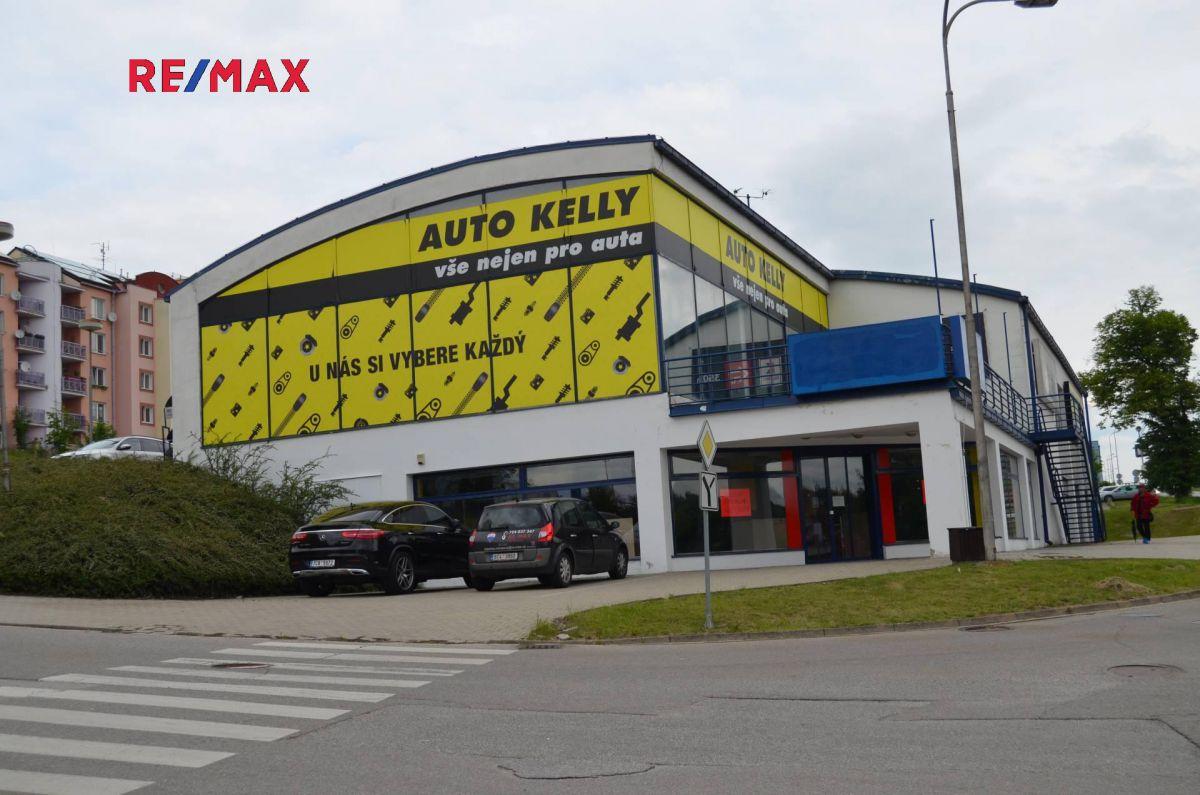 Pronájem komerčního objektu 764 m², Český Krumlov