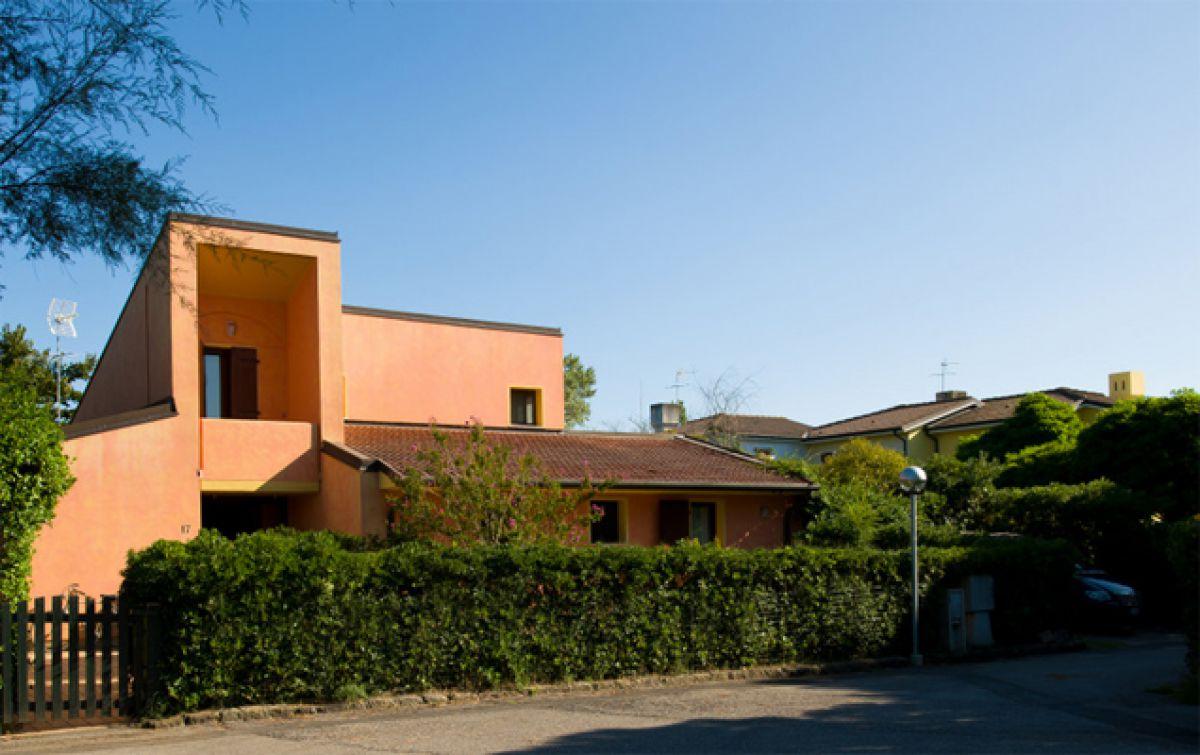 V severní Itálii moderní vila na jedinečném ostrově Albarella