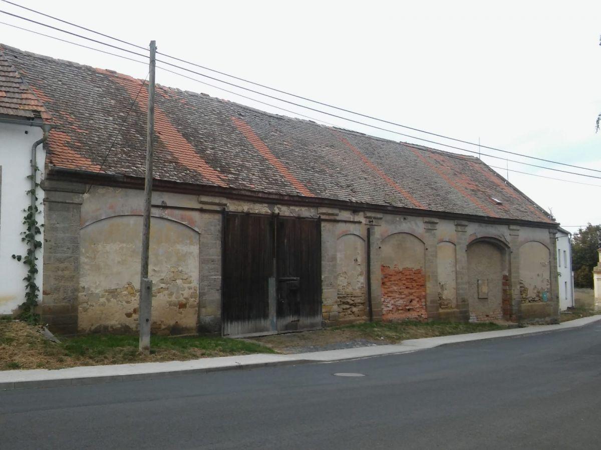 Zemědělské stavení -Stodola