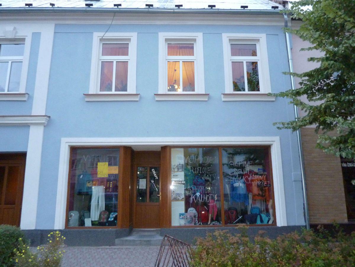 Město Albrechtice nebytový prostor na náměstí