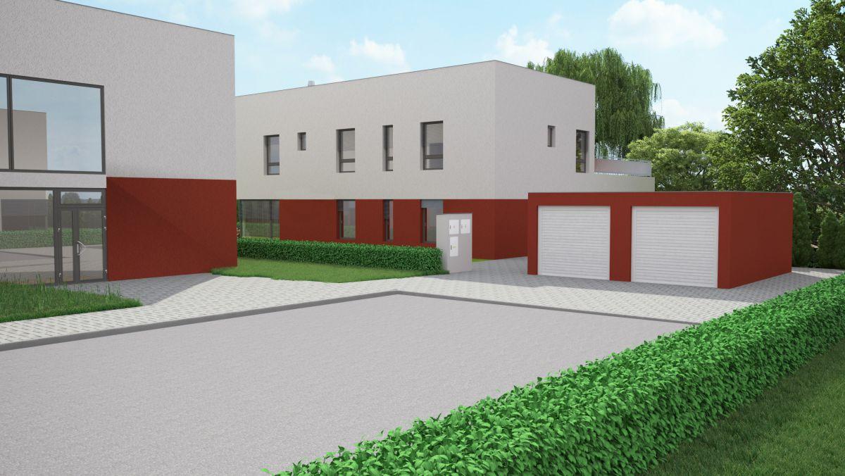 rodinný dům se 3 bytovými jednotkami, zahradou a terasama