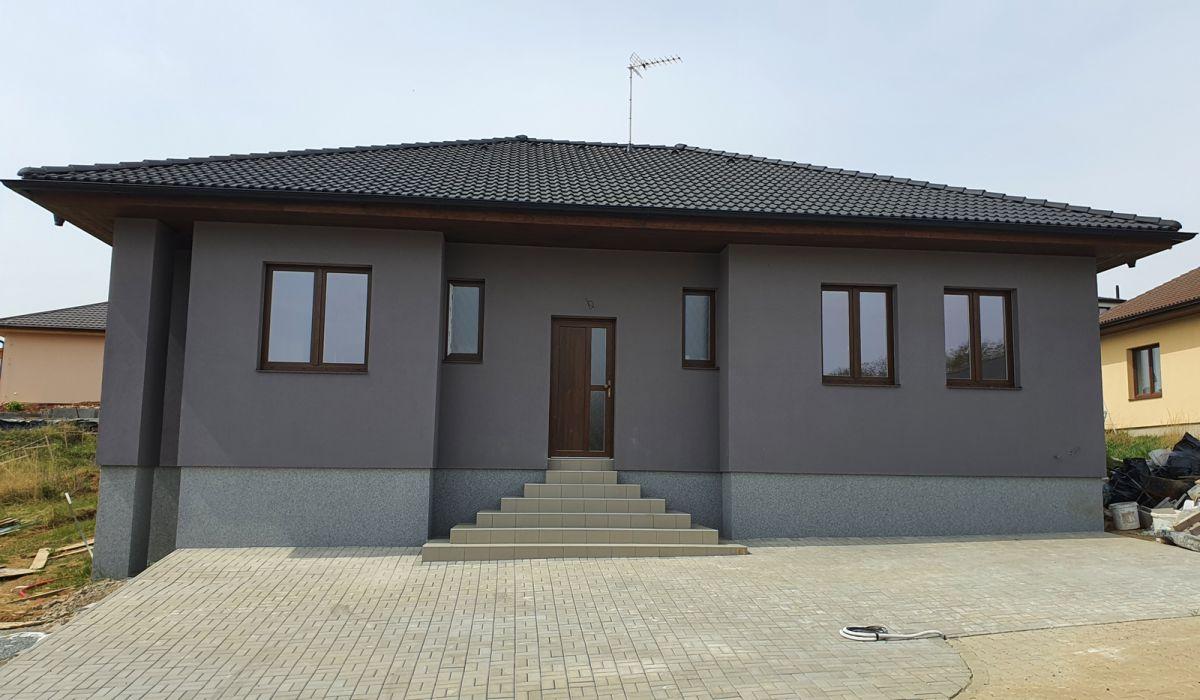 Novostavba RD 4+kk typu bungalov, Doubravčice, okr. Kolín