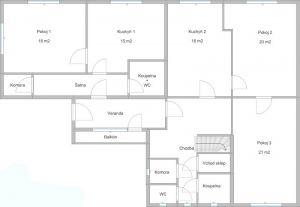 Prodej rodinného domu 280 m², pozemek 810 m² 11