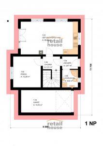Dům Pegas New 2016 Top Plus, 5+kk+G, 120 m2 7