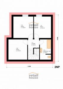 Dům Pegas New 2016 Top Plus, 5+kk+G, 120 m2 8