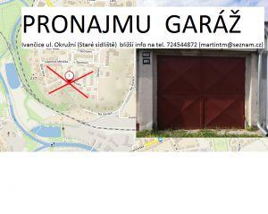 Pronájem garáže Ivančice 4