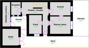 Rodinný dům 6+2,180m2, TACHOV 9