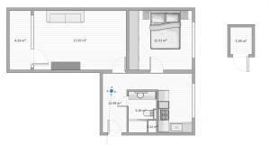 Prodej bytu 2+1 55 m², ulice Švermova, Beroun 16