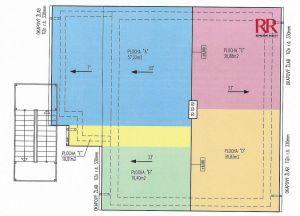Prodej bytu 3+1 ve Volduchách u Rokycan, nově budovaný s parkovacím venkovním stáním 3