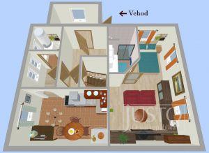 Prodej bytu 1+1, 41 m², České Budějovice - Havlíčkova kolonie 5