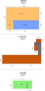 Pronájem skladových / výrobních prostor, 720 m2, Blansko 6