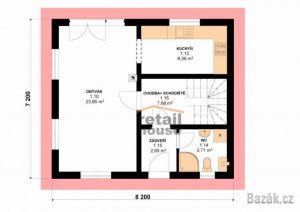Rodinný dům Pegas, 5+kk, 89 m2 4