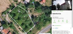 Prodám nebo vyměním pozemek Halenkovice v k.ú.Spytihněv za pozemek Vsetín-Velké Karlovice 1