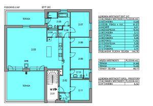 rodinný dům se 3 bytovými jednotkami, zahradou a terasama 3