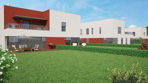 rodinný dům se 3 bytovými jednotkami, zahradou a terasama 4