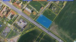 Stavební pozemek pro stavbu provozovny  6 km od ČB 1