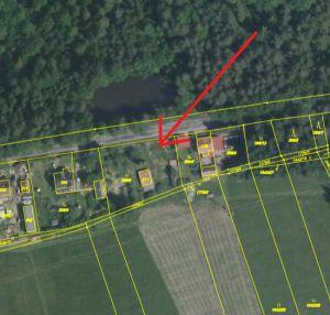 Prodám chatu s velkým pozemkem 1493 m2 3
