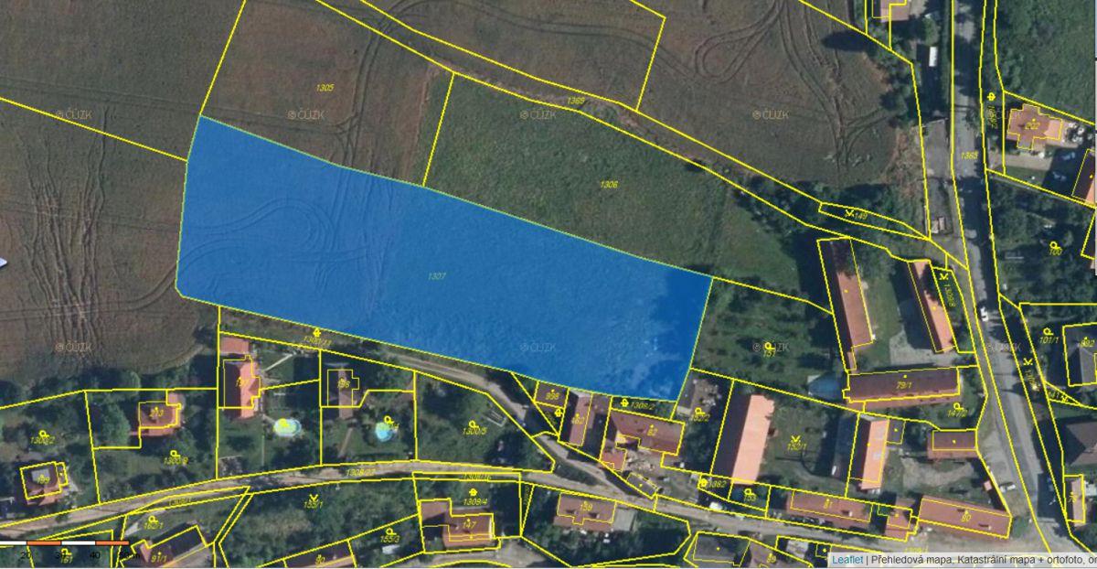 Exkluzivně k prodeji různý souboru pozemků v obce Cisovice