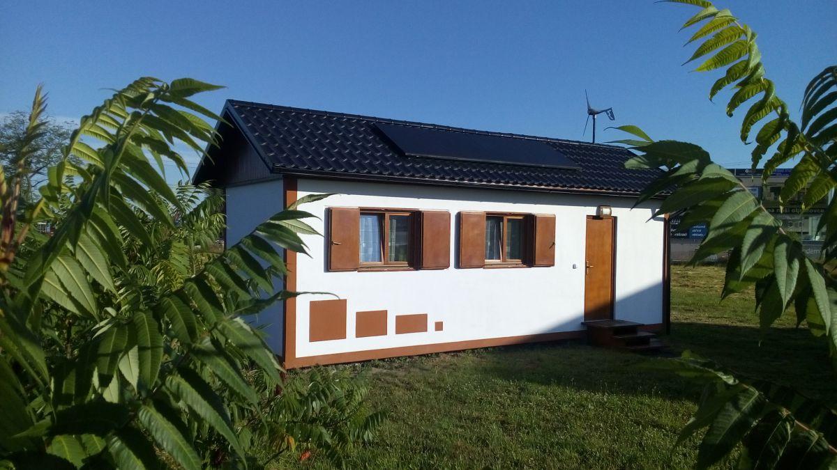 Luxusní soběstačný, mobilní domek 1+1 ihned k bydlení